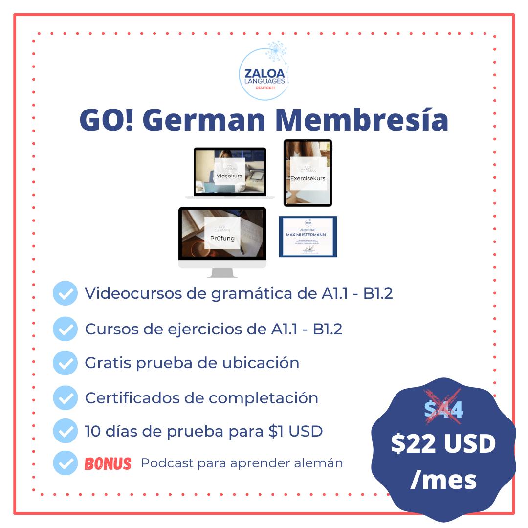 GO! German Membresía